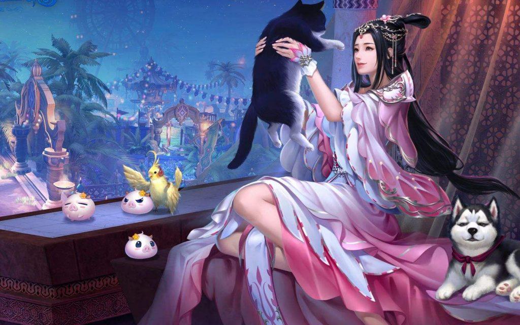 「人多的仙侠游戏」梦幻西游-精武天神的复仇之战